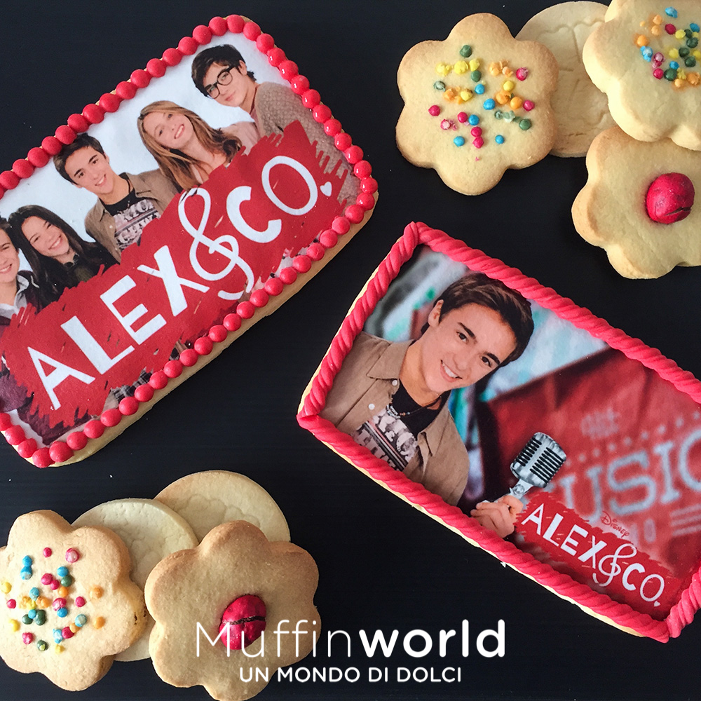 Biscotti decorati muffinworld for Karaoke alex e co