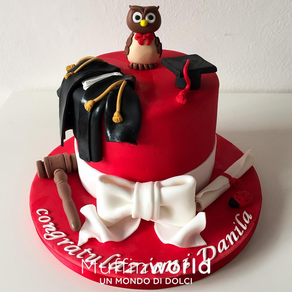 Favoloso Torte di laurea - Muffinworld GE78