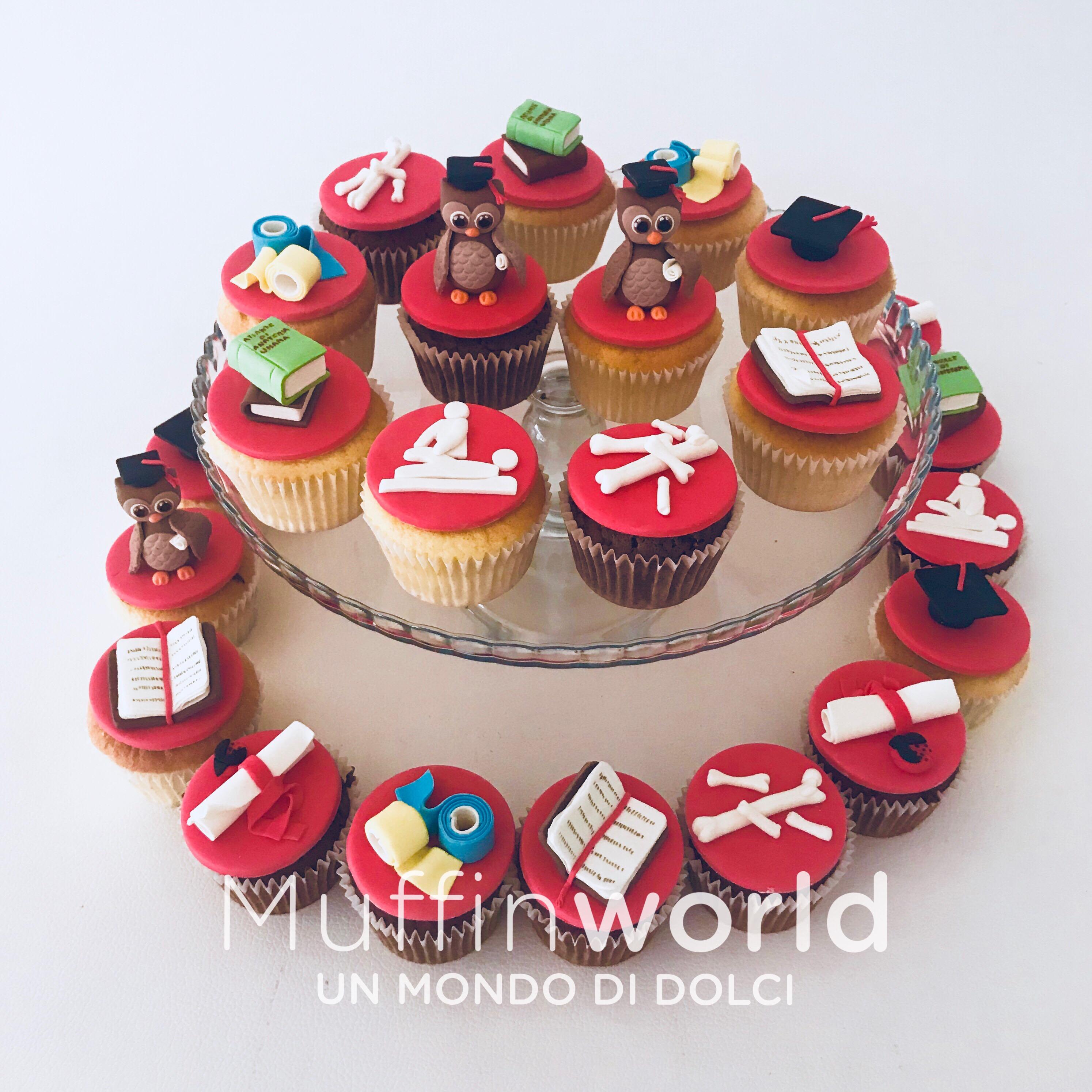 Famoso Torte di laurea - Muffinworld XP79