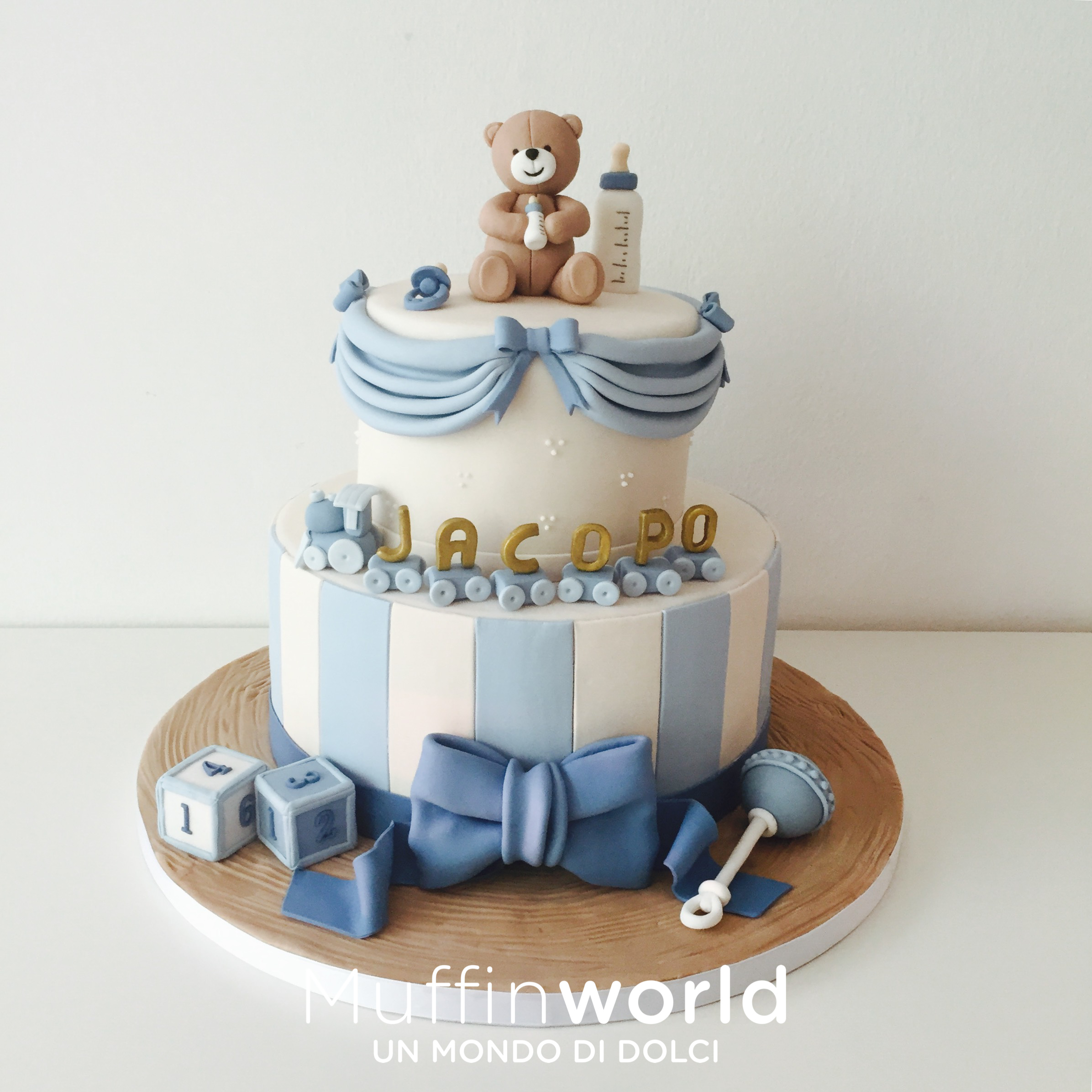 abbastanza Torte di battesimo e baby shower - Muffinworld IN28