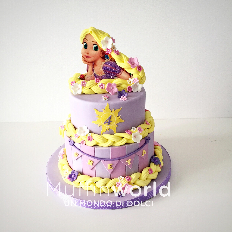 Foto torta rapunzel