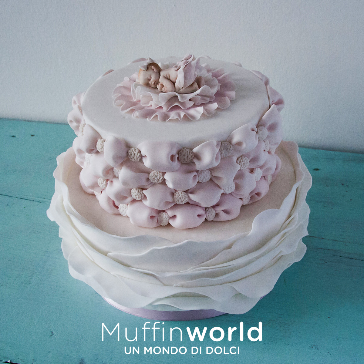 Torte di battesimo e baby shower - Muffinworld