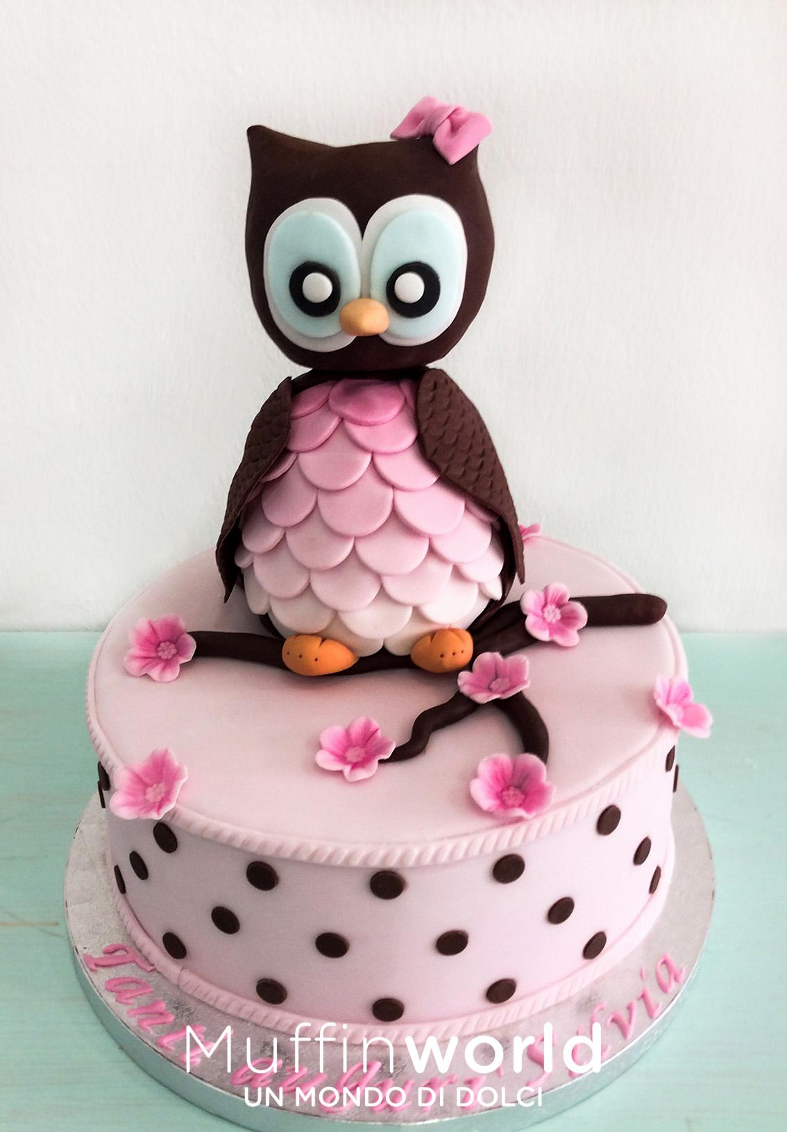 Torte decorate muffinworld for Torta di compleanno per bambini