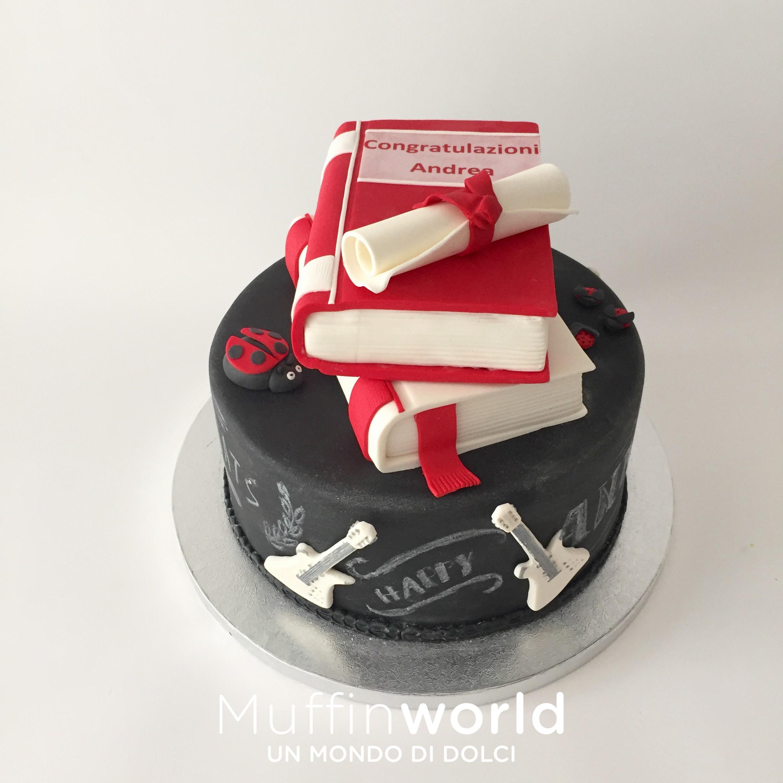 Torte Cake Design Milano : Torte di laurea - Muffinworld
