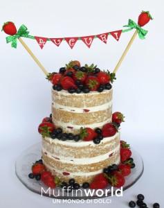 La torta nuda di Muffinworld - Torte di Cake Design Milano
