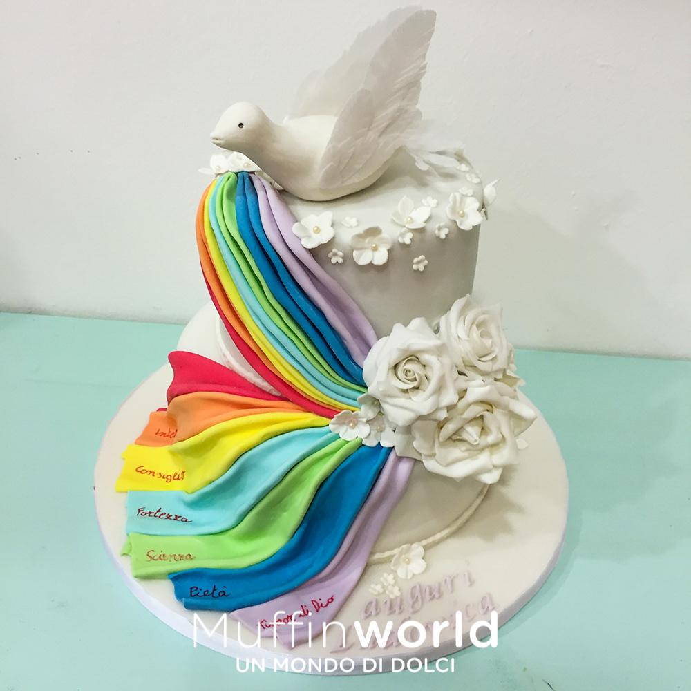 Top Torte per comunione torte per cresima - Muffinworld DH38