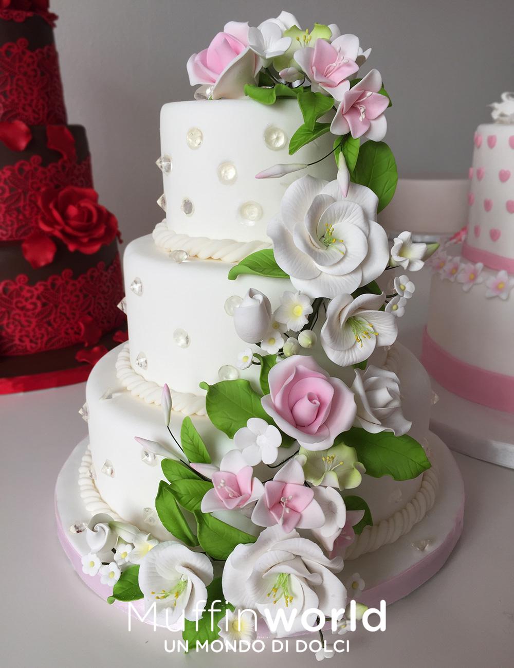 Ben noto Torte di matrimonio - Wedding Cake - Muffinworld PL24