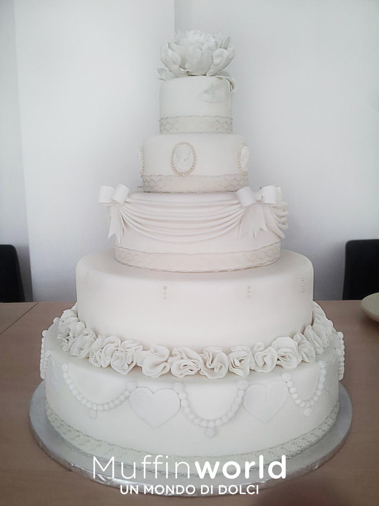 Torte Cake Design Milano : Torte di matrimonio - Wedding Cake - Muffinworld